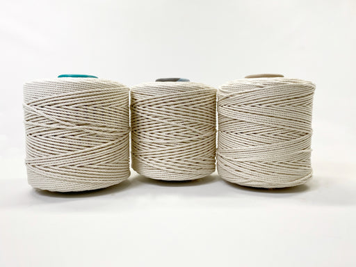 Supersoft Rope - Natural Cotton (3 mm, 4 mm, 5 mm, 8 mm)
