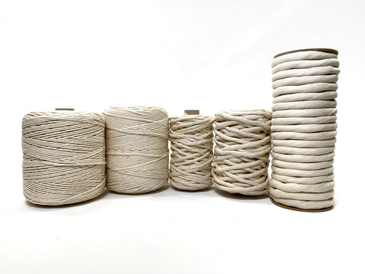 Supersoft String - Natural Cotton (3 mm to 25 mm)