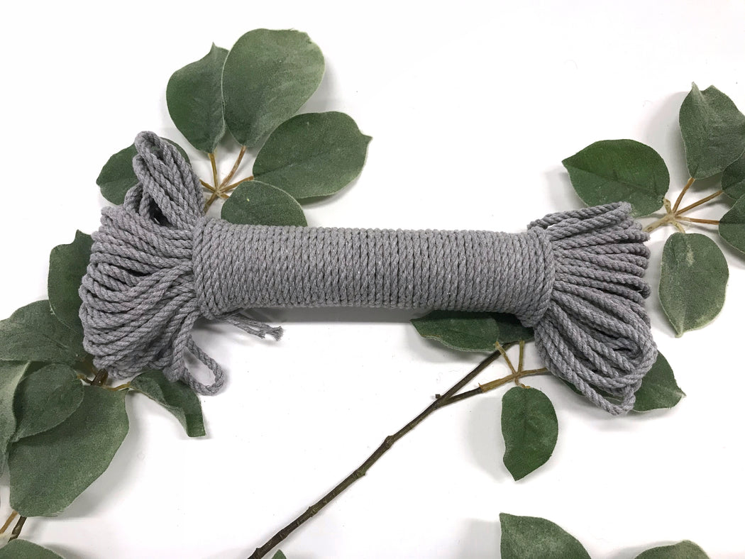 4 mm Supersoft Cotton Rope (100 ft hank)
