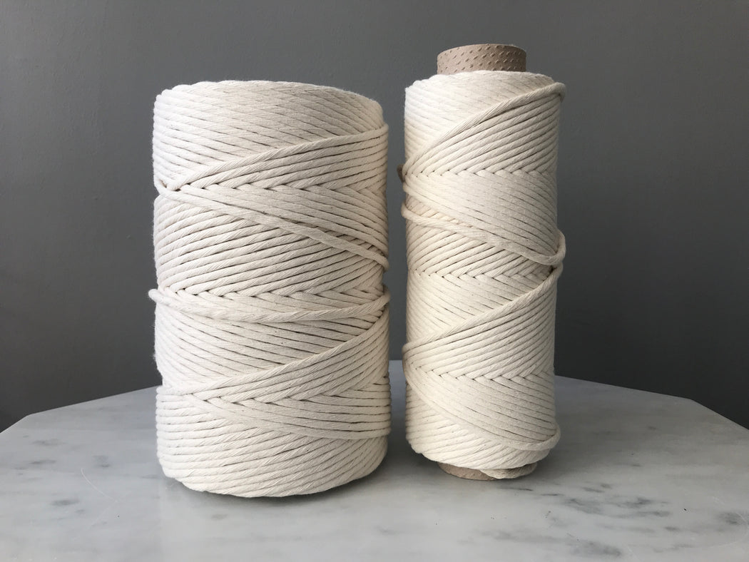 Raw Natural Cotton String (3 mm, 5 mm, 7 mm)