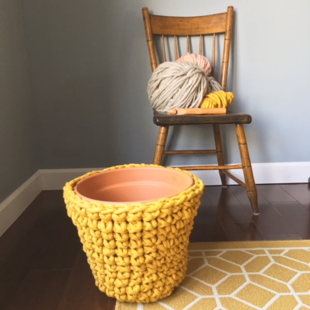 Main Squeeze Planter / Basket - Free Crochet Pattern