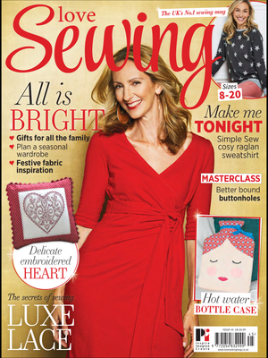 Win Over £100 of fabric with BirdyandBlue.co.uk and Love Sewing Magazine!