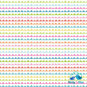 Banner Day White (See You Later Collection) Premium Cotton Fabric
