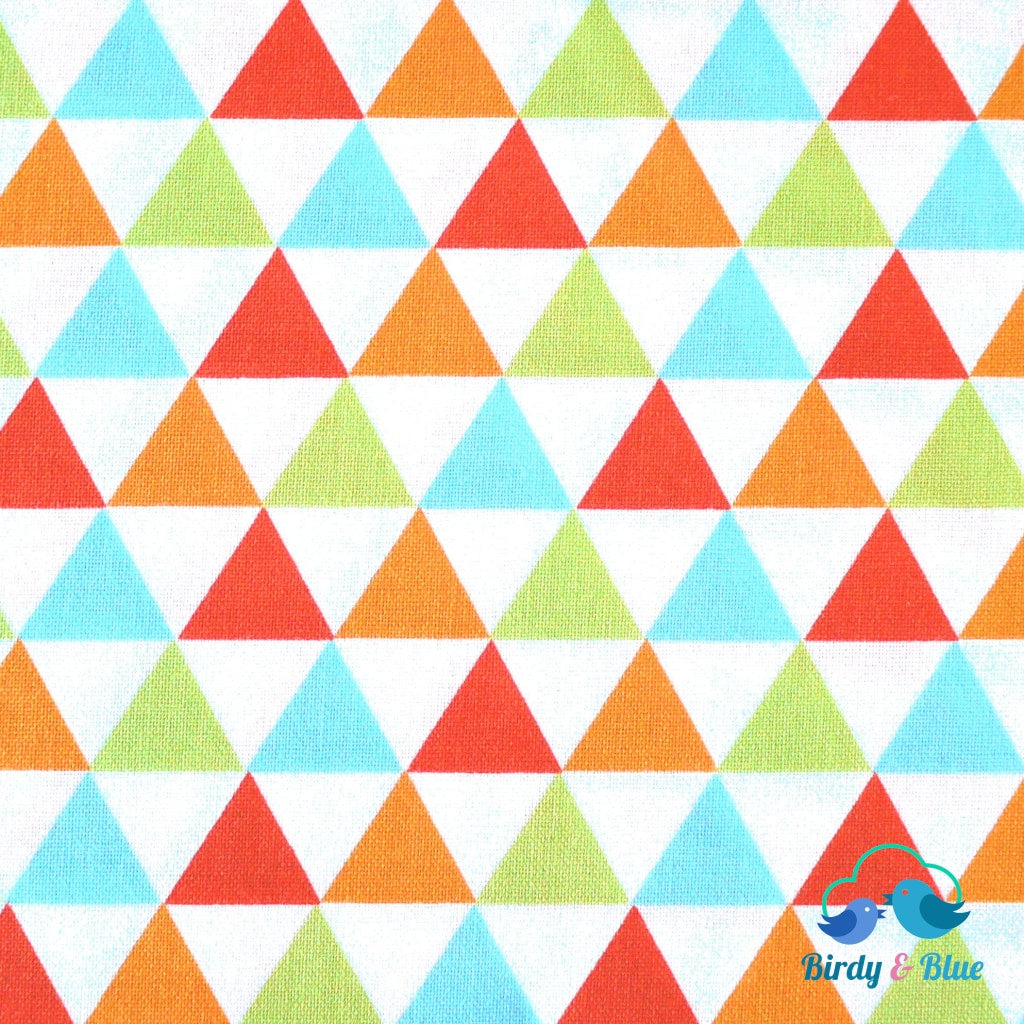 Bermuda Triangles (Remix Collection) Premium Cotton Fabric
