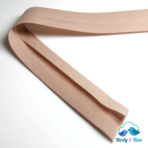 Bias Binding Tape - Linen 25Mm Polycotton (Per Metre)