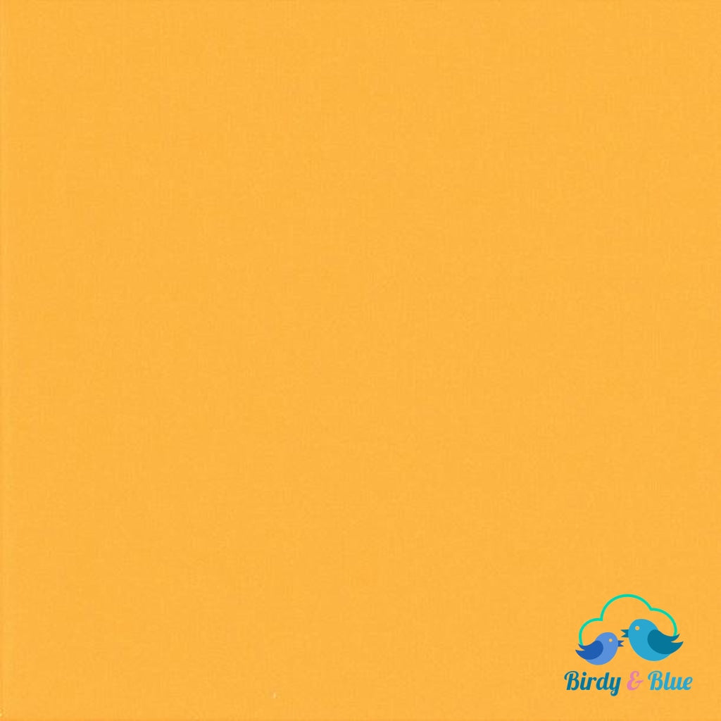 Bright Yellow (Spectrum Collection) Premium Cotton Fabric