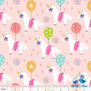 Carousel Pink (Calliope Collection) Premium Cotton Fabric