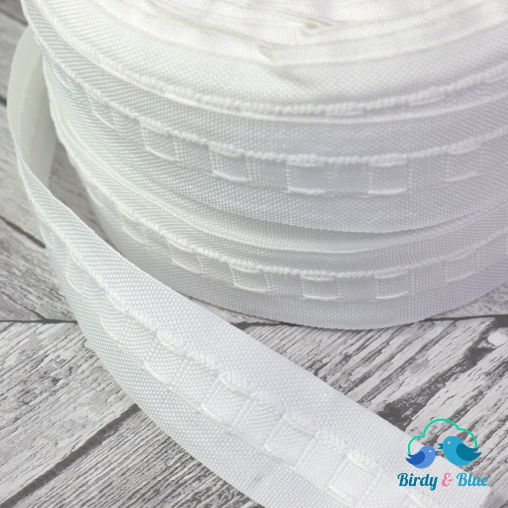 Curtain Header Tape White 28Mm (Per Metre)