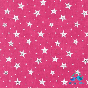 Goodnight Pink (Road Trip Collection) Premium Cotton Fabric