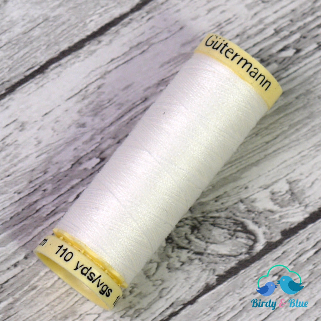 Gutermann Sew-All Thread #111 (Off-White) 100M / 100% Polyester Sewing