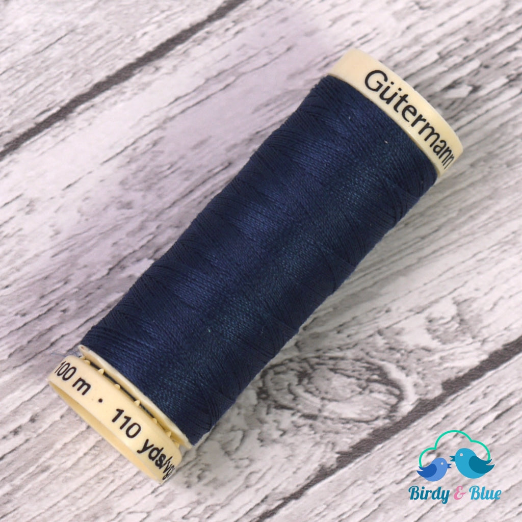 Gutermann Sew-All Thread #13 (Oxford Blue) 100M / 100% Polyester Sewing