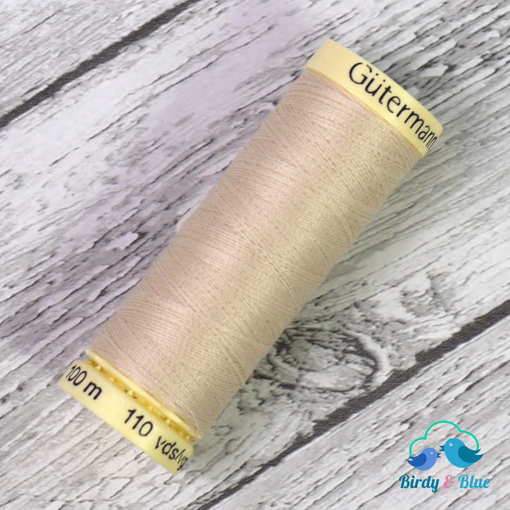 Gutermann Sew-All Thread #169 (Beige) 100M / 100% Polyester Sewing