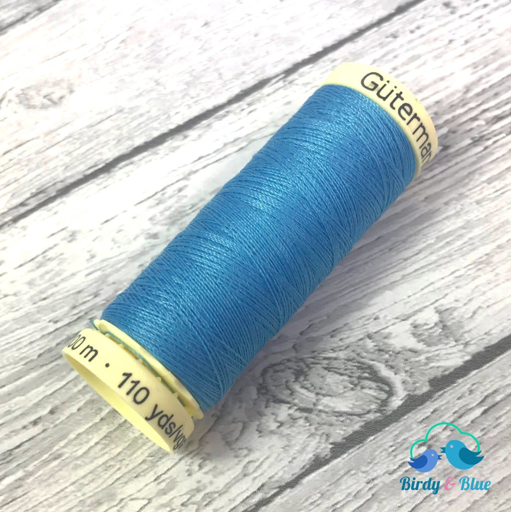 Gutermann Sew-All Thread #197 (Cerulean Blue) 100M / 100% Polyester Sewing
