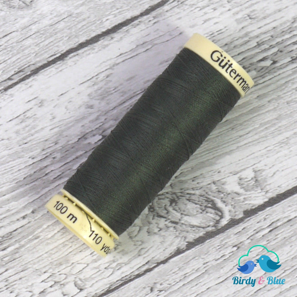 Gutermann Sew-All Thread #269 (Dark Olive) 100M / 100% Polyester Sewing