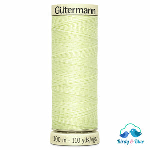 Gutermann Sew-All Thread #292 (Luminary Green) 100M / 100% Polyester Sewing