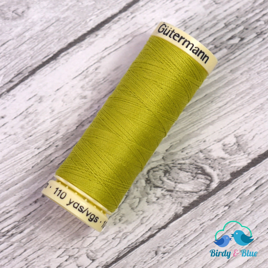Gutermann Sew-All Thread #334 (Lime Green) 100M / 100% Polyester Sewing
