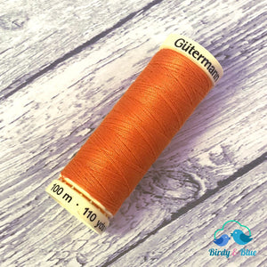 Gutermann Sew-All Thread #350 (Burnt Orange) 100M / 100% Polyester Sewing