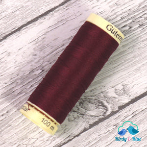 Gutermann Sew-All Thread #369 (Burgundy) 100M / 100% Polyester Sewing