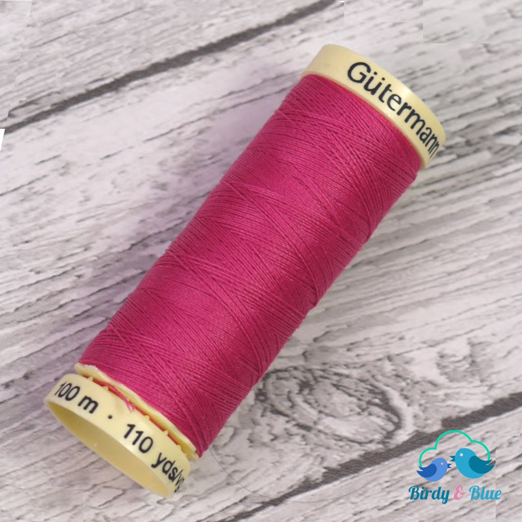 Gutermann Sew-All Thread #382 (Cerise) 100M / 100% Polyester Sewing