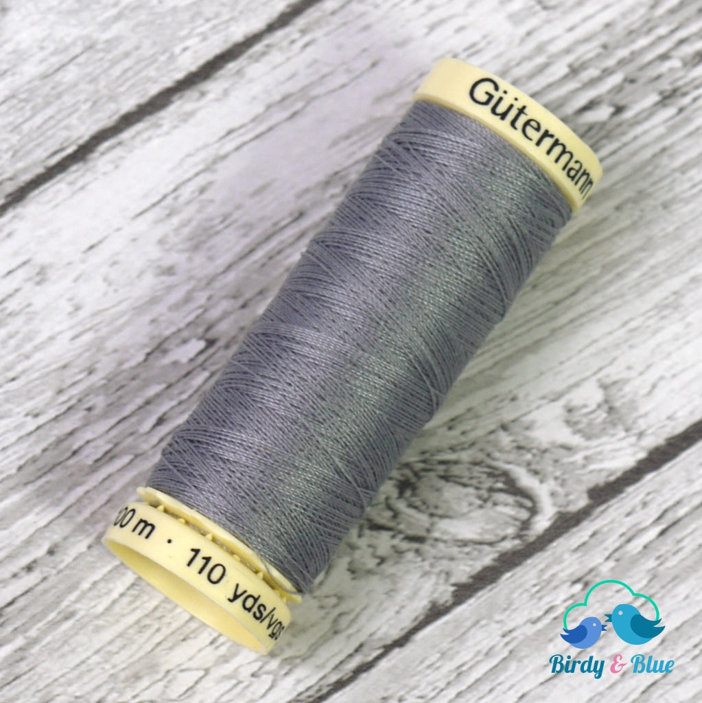 Gutermann Sew-All Thread #40 (Mid Grey) 100M / 100% Polyester Sewing