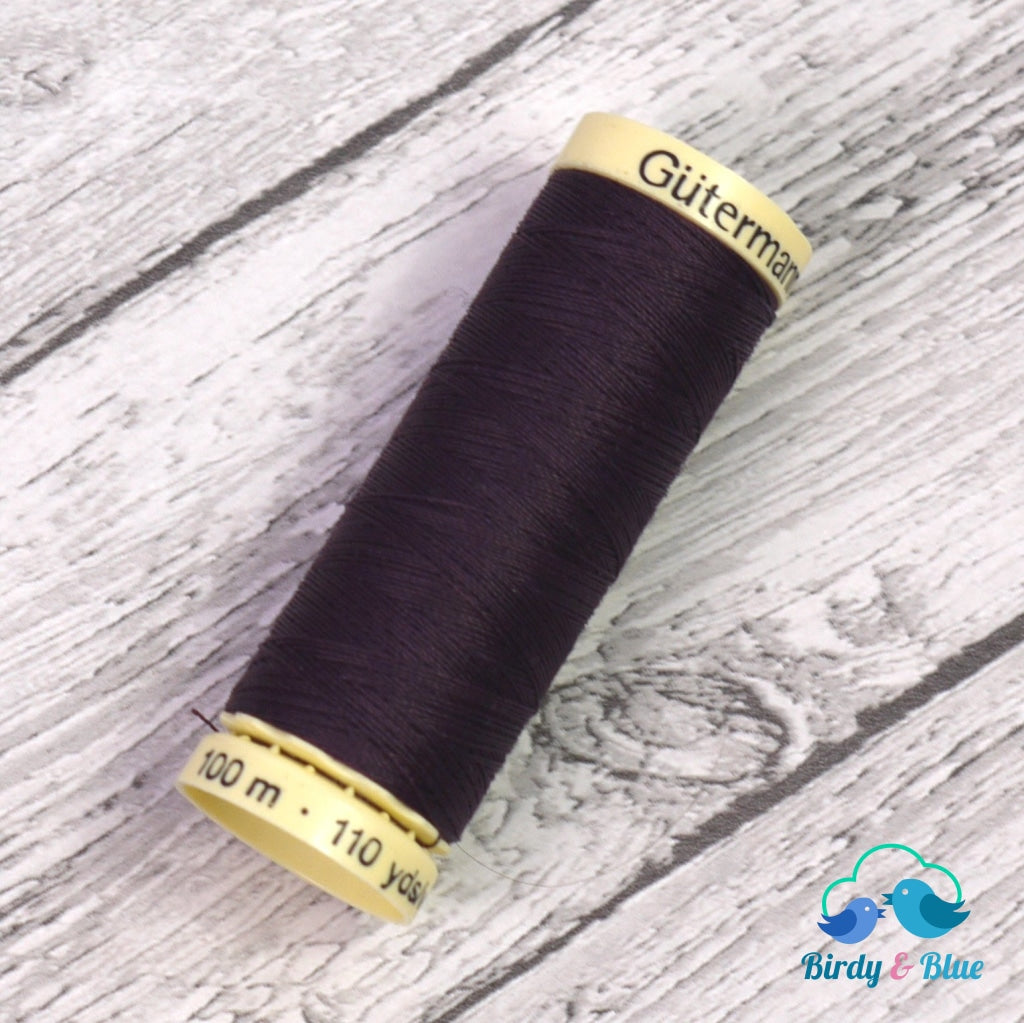 Gutermann Sew-All Thread #512 (Aubergine) 100M / 100% Polyester Sewing