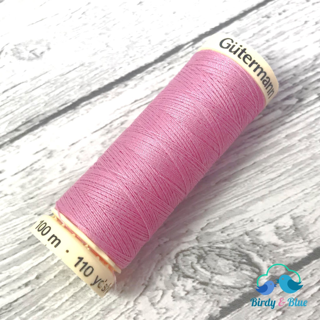 Gutermann Sew-All Thread #663 (Rose Pink) 100M / 100% Polyester Sewing