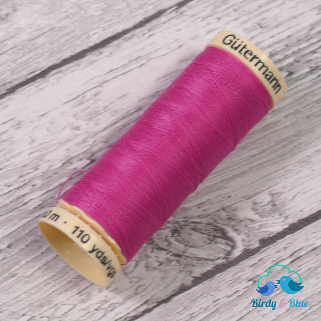 Gutermann Sew-All Thread #733 (Bright Pink) 100M / 100% Polyester Sewing