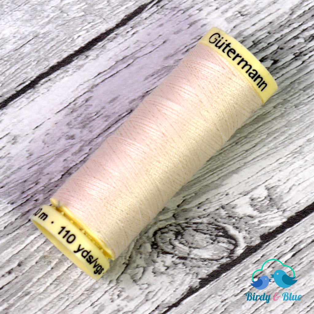 Gutermann Sew-All Thread #802 (Cream) 100M / 100% Polyester Sewing