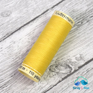 Gutermann Sew-All Thread #852 (Yellow) 100M / 100% Polyester Sewing