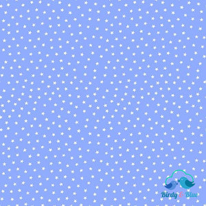 Indigo Stars (Star Bright Collection) Premium Cotton Fabric