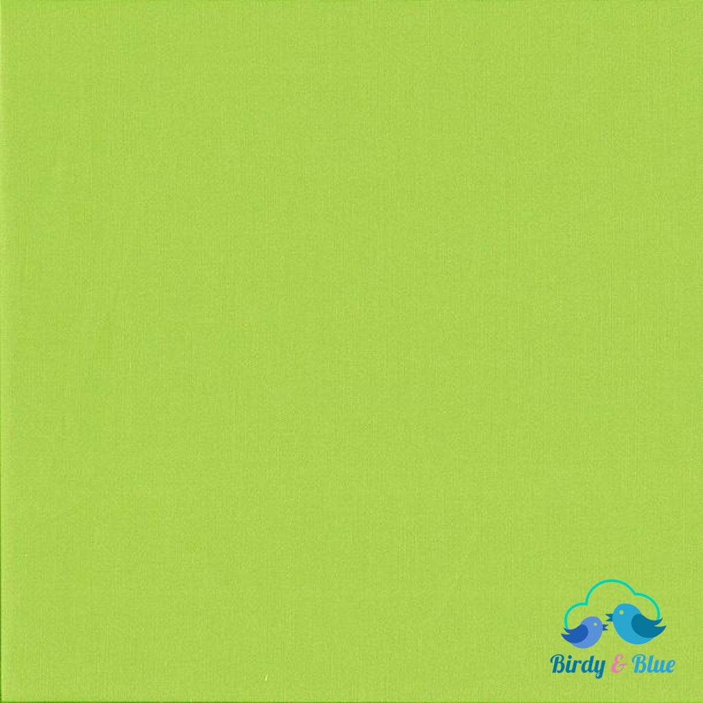 Lime Green (Spectrum Collection) Premium Cotton Fabric