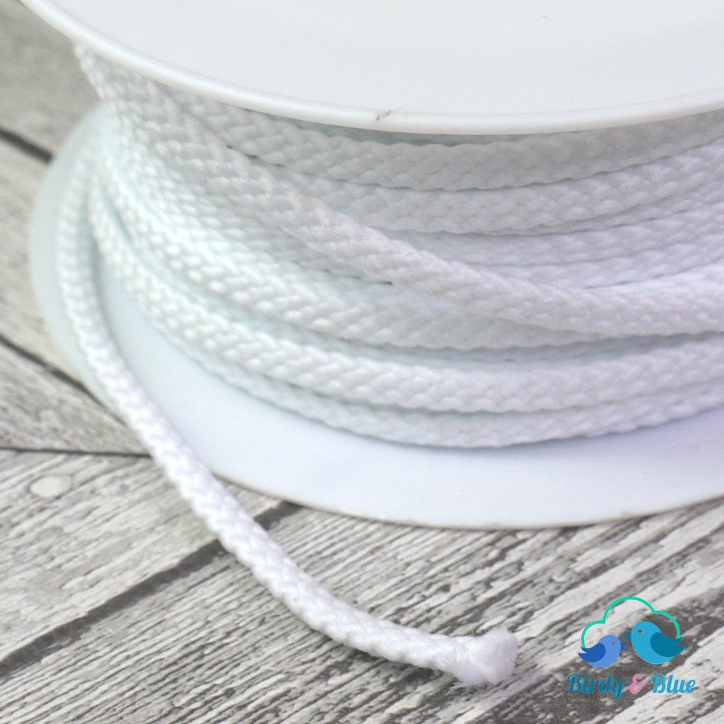 Polyester Cord White 6Mm (Per Metre)