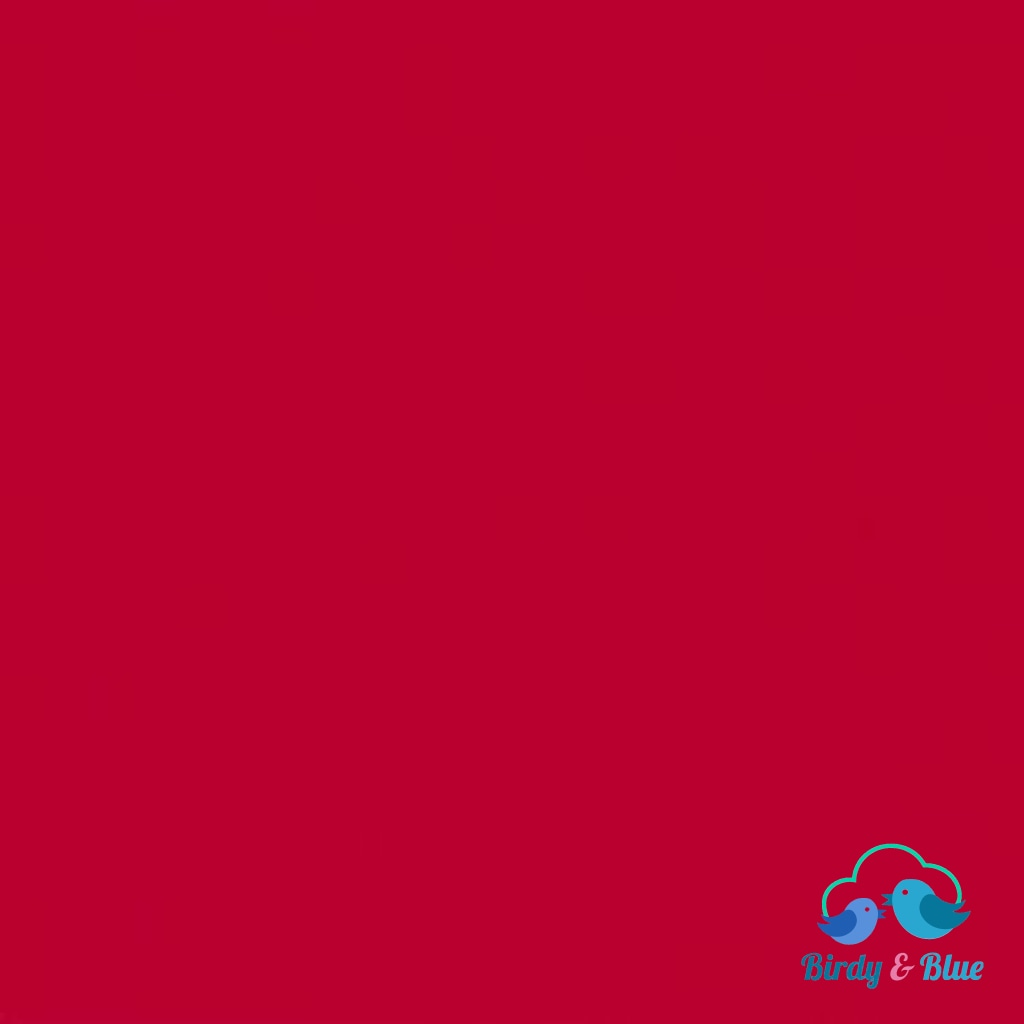 Red (Spectrum Collection) Premium Cotton Fabric