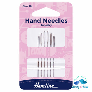 Tapestry Needles (Pack Of 6) Size 18