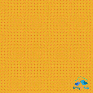 Yellow/orange Dot (Basics Collection) Premium Cotton Fabric