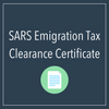 SARS - Emigration tax clearance certificate