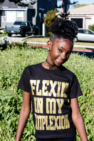 """Flexin In My Complexion"" Tee by Kheris Rogers"