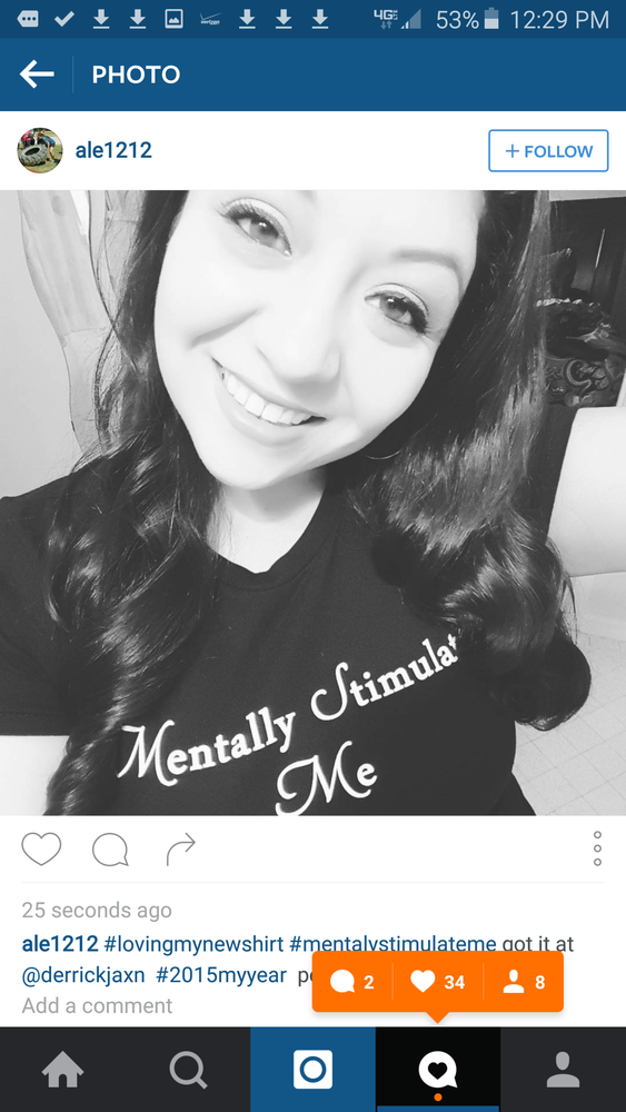 MENTALLY STIMULATE ME *Women's Tee*
