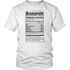 Nutrition Facts Tees