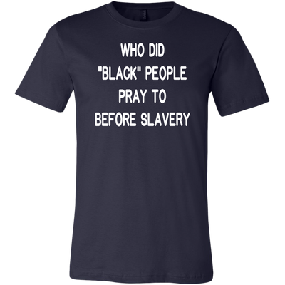 Who Did Black People Pray To Before Slavery