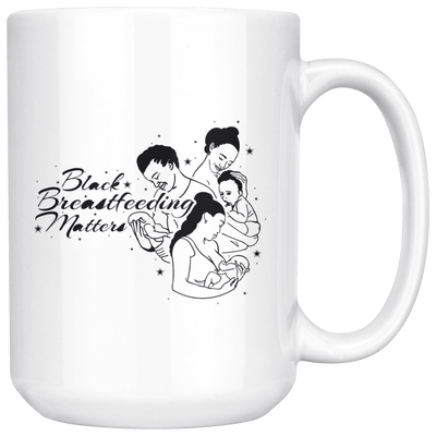 Black Breastfeeding Matters 15oz Mug