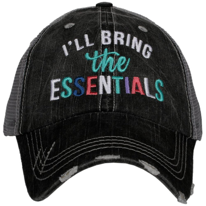 I'll Bring the Essentials (Multicolored) Trucker Hat
