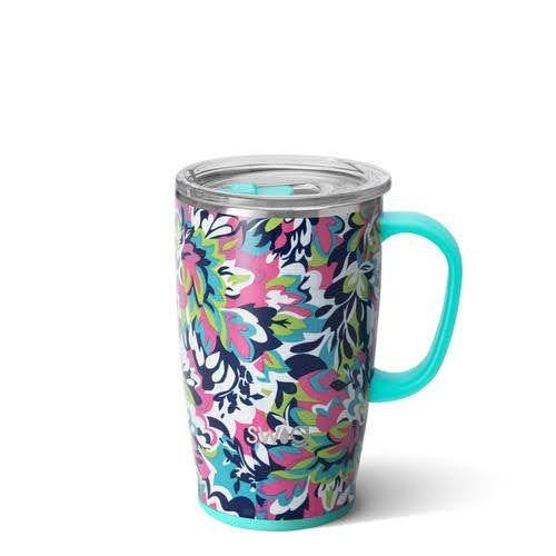 Swig 18 oz Mug - Frilly Lilly