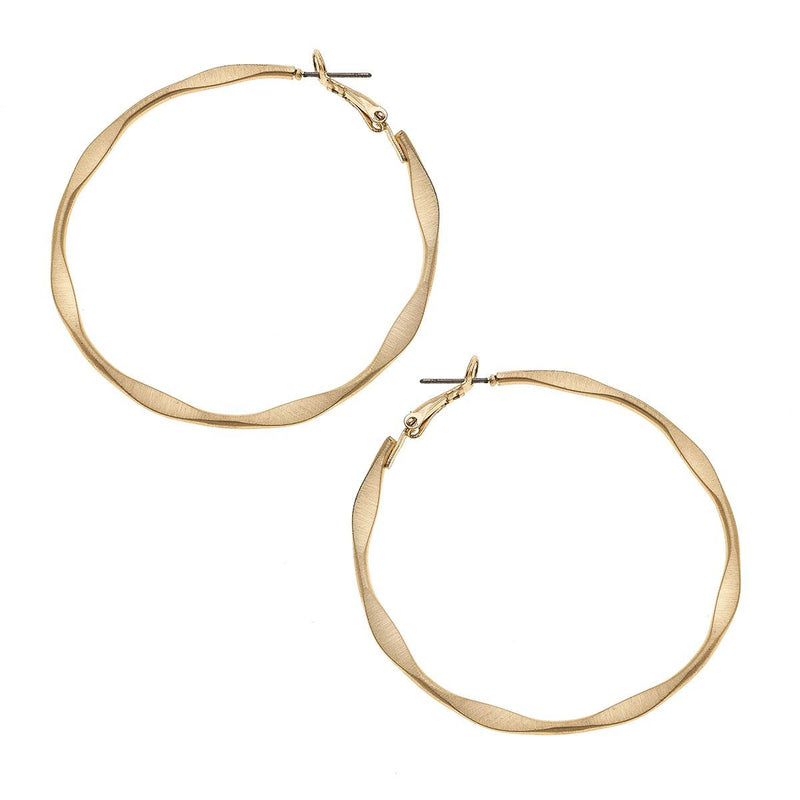 Charlize Hoop Earrings