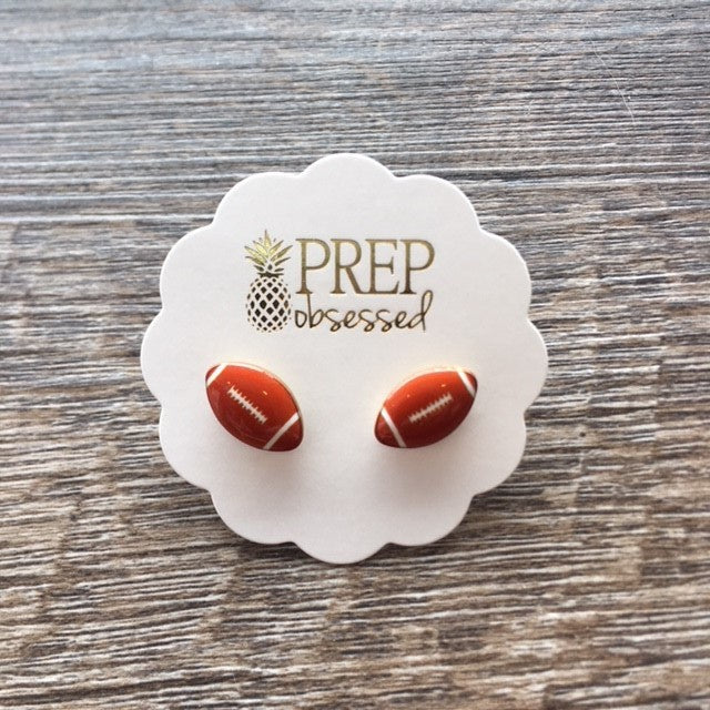Football Signature Enamel Studs