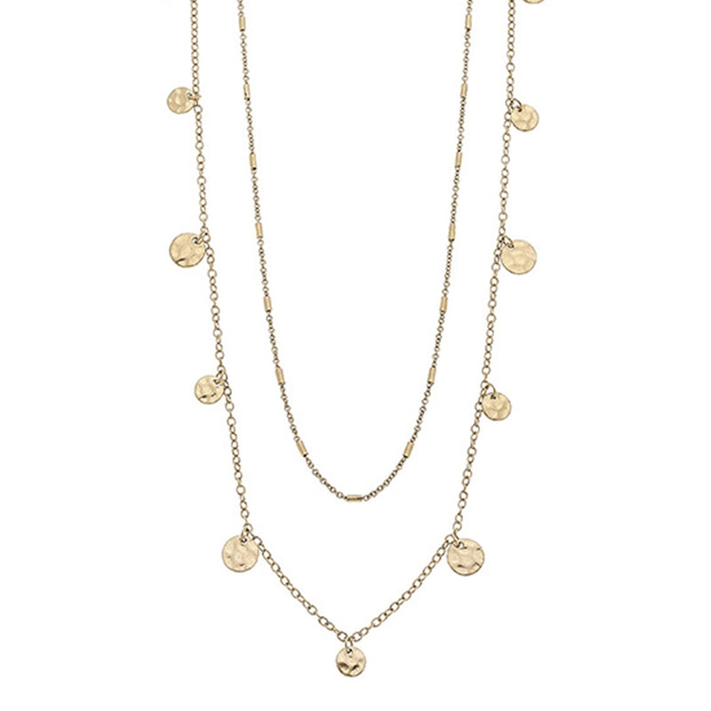 Reine Layered Drip Necklace