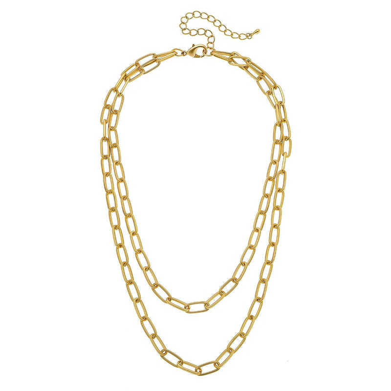 Capucine Layered Chain Necklace