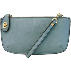 Joy Crossbody Wristlet - Light Blue