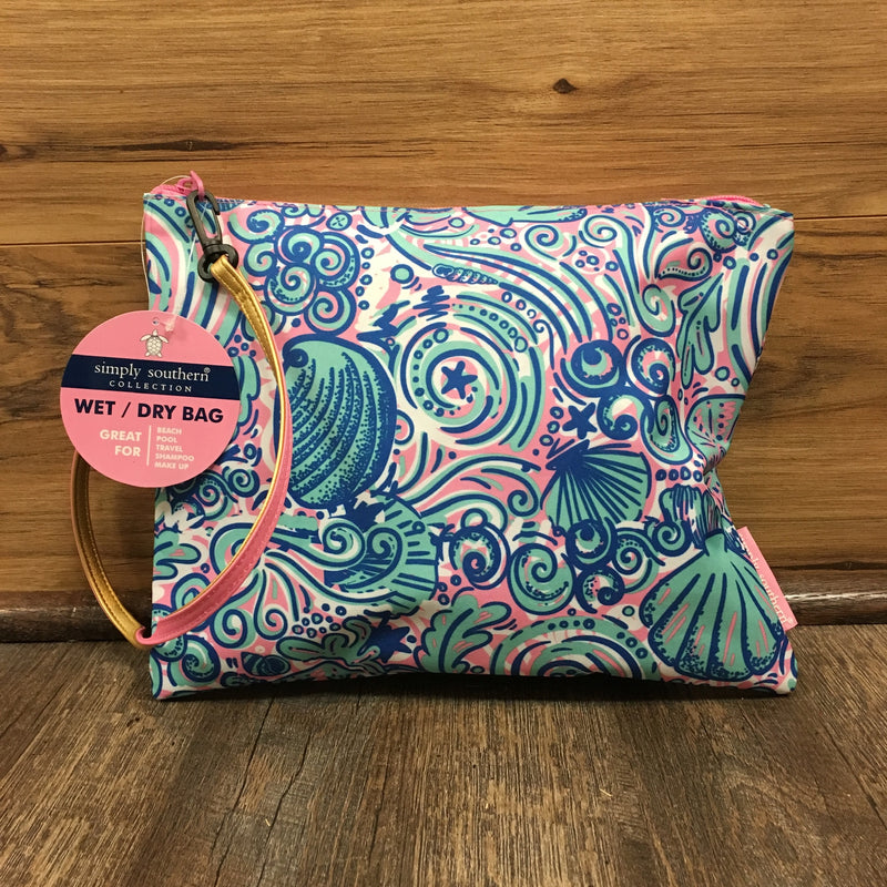Swirly Simply Southern Wet/Dry Bag ($6 to Monogram)