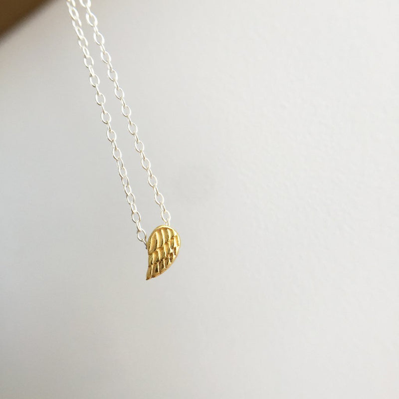Always Near Necklace (14K Gold over Sterling)